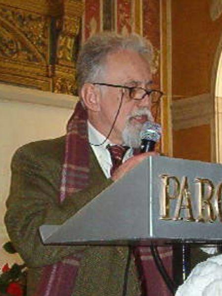 Il prof. John Bassett Trumper, ordinario di Glottologia e Linguistica Generale.