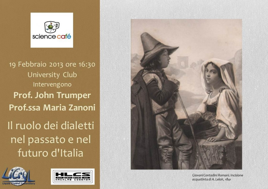 Il ruolo dei dialetti nel passato e nel futuro dell'Italia.