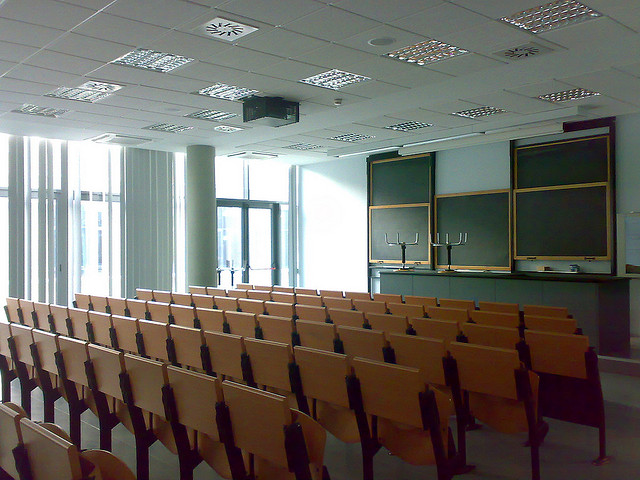 Pronti per tornare in classe? (Foto by Pierpieter, licenza CC-BY_NC)
