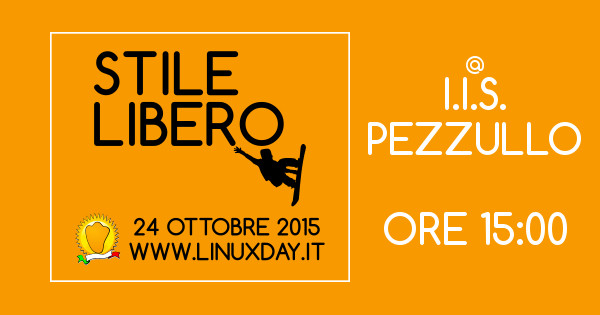Banner LinuxDay 2015 Hacklab Cosenza