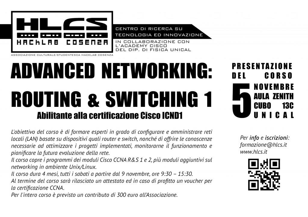 Corso Networking 1 2013 2014